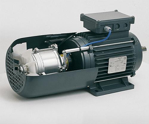 externí chlazení elektromotoru ukážka